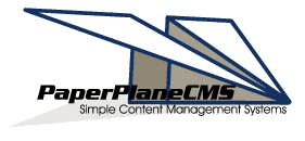 Paper Plane CMS